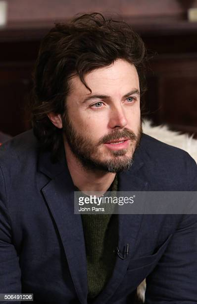 Casey Afflect from the film ''Manchester by the Sea' attended The Hollywood Reporter 2016 Sundance Studio At Rock Reilly's Day 2 on January 23 2016...
