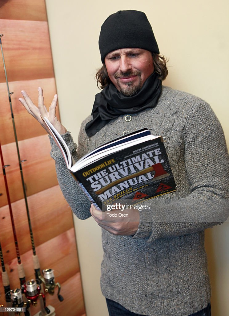 Casey Anderson attends Sears Shop Your Way Digital Recharge Lounge on January 18, 2013 in Park City, Utah.