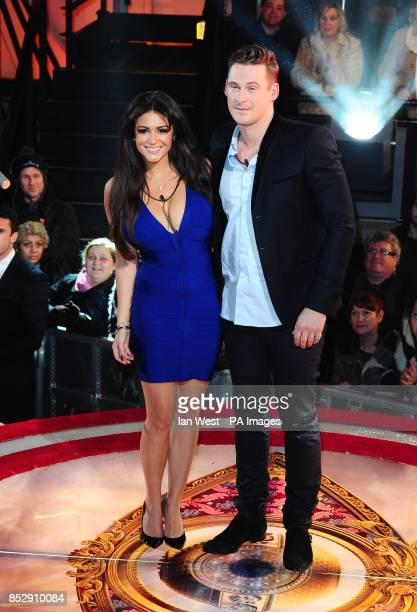 Casey Batchelor and Lee Ryan are evicted from the Celebrity Big Brother House at Elstree Studios in Borehamwood to a house called the bolt hole...