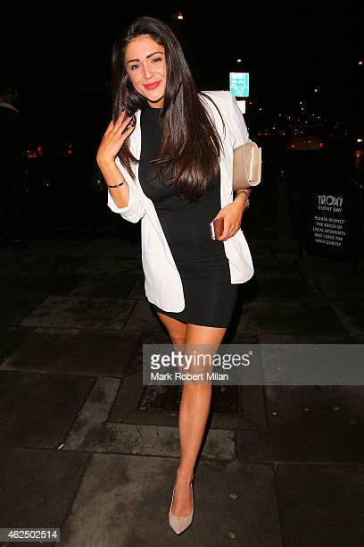 Casey Batchelor at the Troxy for Gav Aid 2015 on January 29 2015 in London England