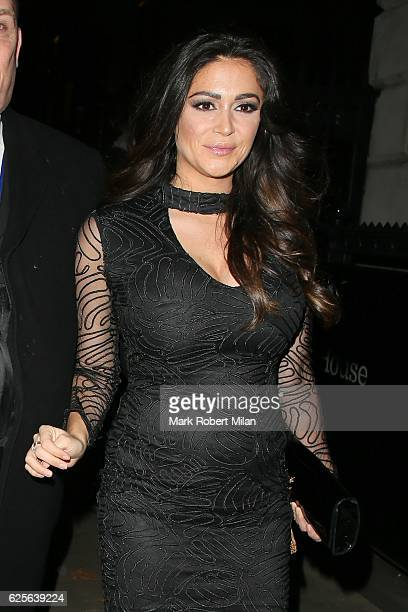 Casey Batchelor attending the Beauty Awards in association with OK and Debenhams at the Banqueting House on November 24 2016 in London England