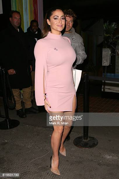 Casey Batchelor attending the PINK London party at Tropicana beach club on October 18 2016 in London England