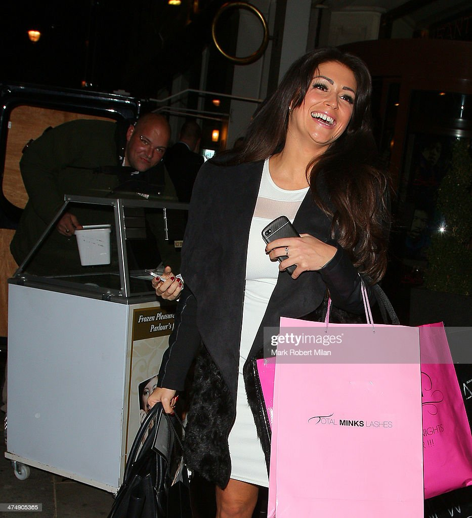 Casey Batchelor attending the Total Minx Launch Party on February 25, 2014 in London, England.