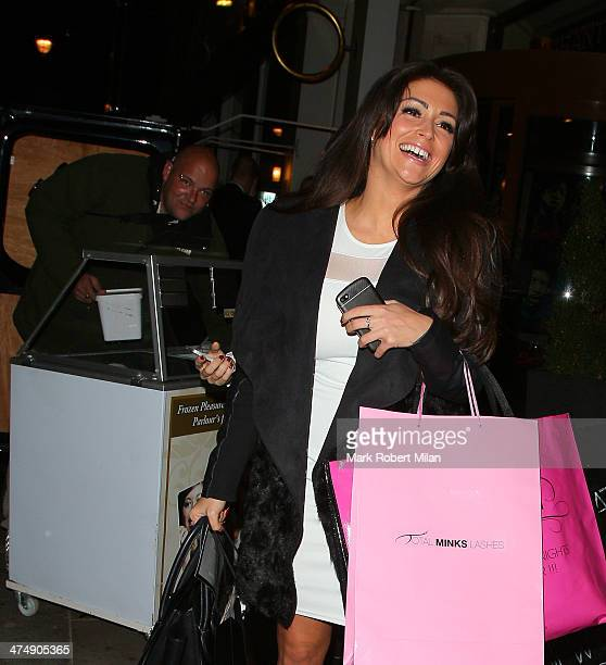 Casey Batchelor attending the Total Minx Launch Party on February 25 2014 in London England