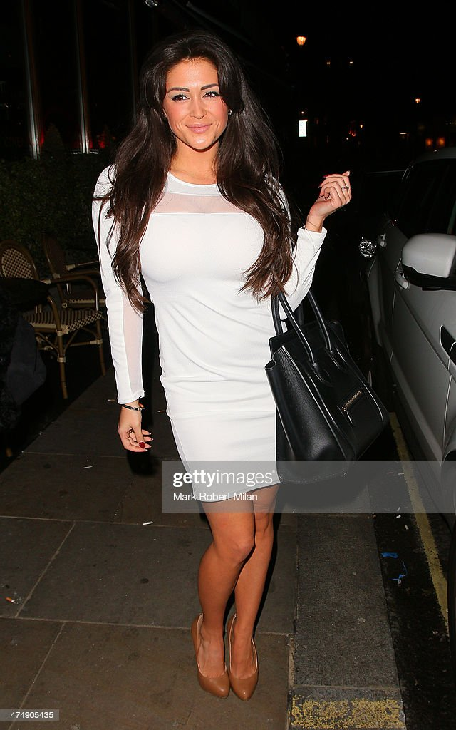<a gi-track='captionPersonalityLinkClicked' href=/galleries/search?phrase=Casey+Batchelor&family=editorial&specificpeople=7306767 ng-click='$event.stopPropagation()'>Casey Batchelor</a> attending the Total Minx Launch Party on February 25, 2014 in London, England.