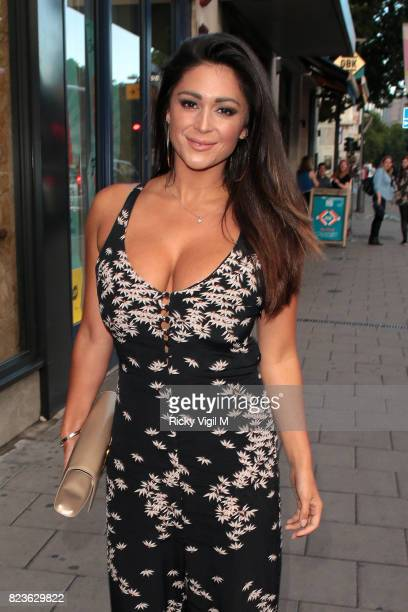 Casey Batchelor attends Ann Summers a/w 2017 launch party on July 27 2017 in London England