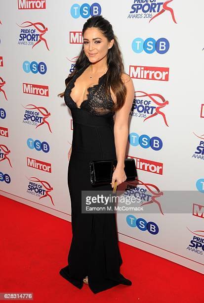 Casey Batchelor attends the Daily Mirror's Pride of Sport awards at The Grosvenor House Hotel on December 7 2016 in London England