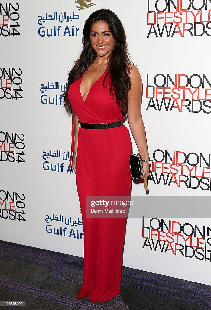 Casey Batchelor attends The London Lifestyle Awards at the Troxy on October 8 2014 in London England