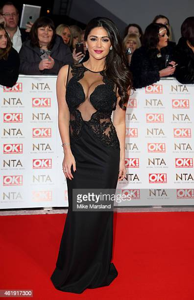 Casey Batchelor attends the National Television Awards at 02 Arena on January 21 2015 in London England