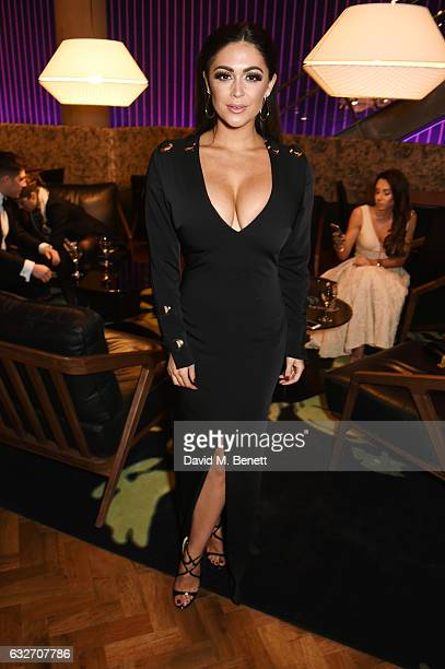 Casey Batchelor attends the National Television Awards cocktail reception at The O2 Arena on January 25 2017 in London England