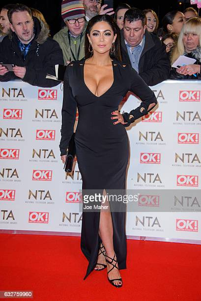 Casey Batchelor attends the National Television Awards on January 25 2017 in London United Kingdom