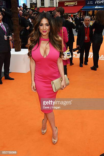 Casey Batchelor attends the 'The Nice Guys' UK Premiere at Odeon Leicester Square on May 19 2016 in London England