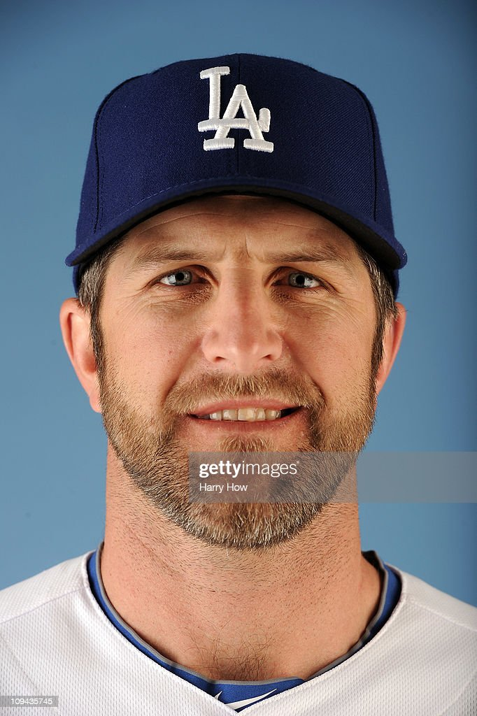 Casey Blake #23 of the Los Angeles Dodgers poses for a photo on photo day at Camelback Ranch on February 25, 2011 in Glendale, Arizona.