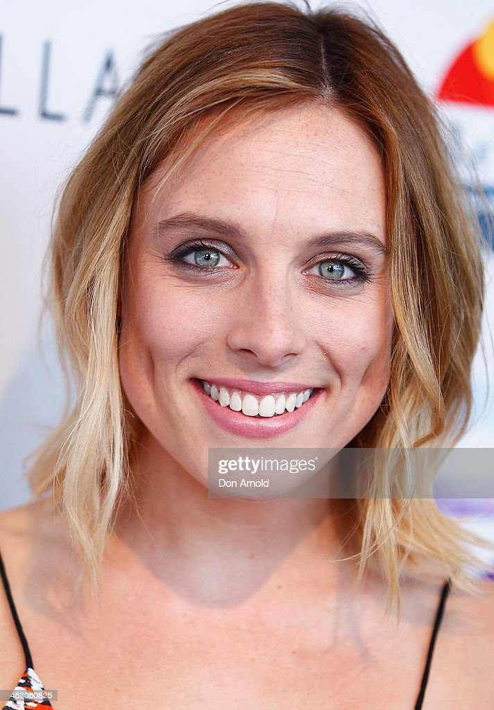 Casey Burgess poses at the 2013 CLEO Swim Party at The Bucket List on November 26, 2013 in Sydney, Australia.