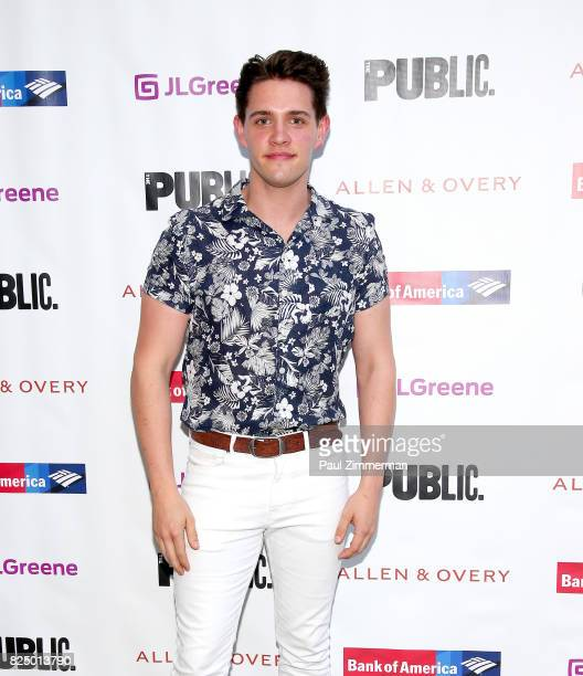 Casey Cott attends 'A Midsummer Night's Dream' Opening Night at Delacorte Theater on July 31 2017 in New York City