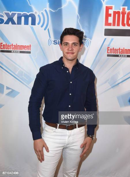 Casey Cott attends SiriusXM's Entertainment Weekly Radio Channel Broadcasts From Comic Con 2017 at Hard Rock Hotel San Diego on July 22 2017 in San...