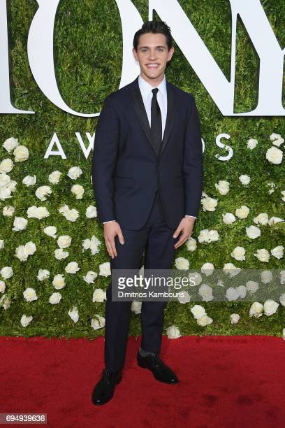 Casey Cott attends the 2017 Tony Awards at Radio City Music Hall on June 11 2017 in New York City