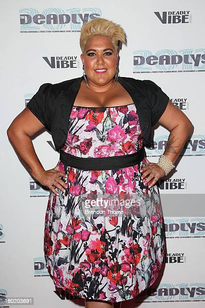 Casey Donovan arrives at the 2013 Deadly Awards at the Sydney Opera House on September 10 2013 in Sydney Australia The Deadly Awards are the National...