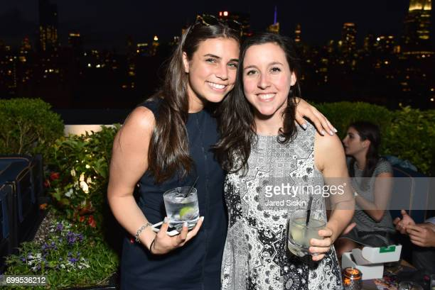 Casey Frankel and Katie Gross attend The Junior Board of The TEAK Fellowship Presents A Midsummer Night at PhD Lounge at the Dream Downtown New York...