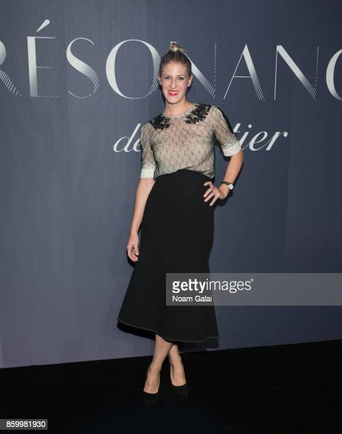 Casey Fremont Crowe attends Cartier's celebration of Resonances de Cartier on October 10 2017 in New York City