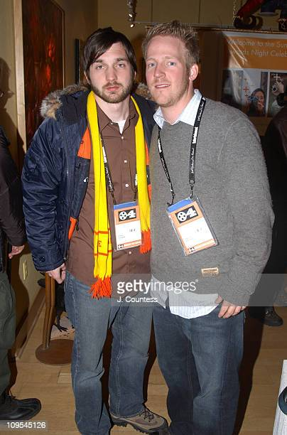 Casey Gooden and David Sullivan during 2004 Sundance Film Festival Closing Night Cocktail Party at Coda Gallery in Park City Utah United States