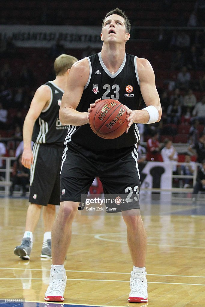 <a gi-track='captionPersonalityLinkClicked' href=/galleries/search?phrase=Casey+Jacobsen&family=editorial&specificpeople=201618 ng-click='$event.stopPropagation()'>Casey Jacobsen</a> of Brose Baskets Bamberg in action during the 2012-2013 Turkish Airlines Euroleague Regular Season Game Day 7 between Besiktas JK Istanbul v Brose Baskets Bamberg at Abdi Ipekci Arena on November 23, 2012 in Istanbul, Turkey.