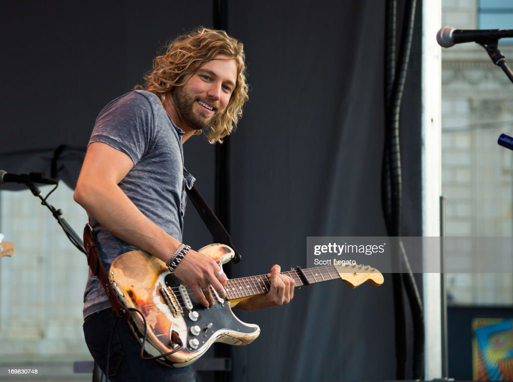 Casey James performs during the Downtown Hoedown at Comerica Park Parking Lot on June 2, 2013 in Detroit, Michigan.