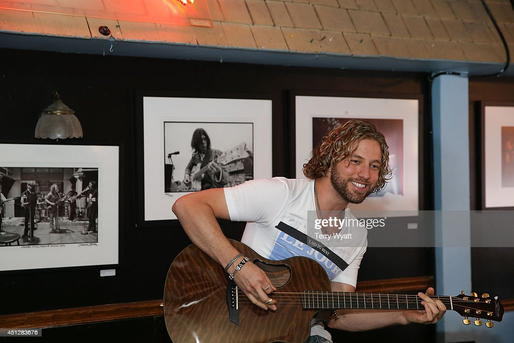 Casey James performs for campers at the ACM Lifting Lives Music Camp Bluebird Cafe With Casey James at Bluebird Cafe on June 26, 2014 in Nashville, Tennessee.