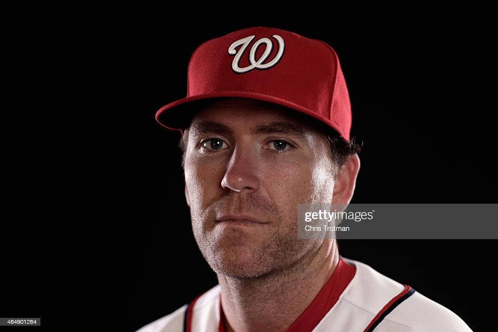 <a gi-track='captionPersonalityLinkClicked' href=/galleries/search?phrase=Casey+Janssen&family=editorial&specificpeople=598479 ng-click='$event.stopPropagation()'>Casey Janssen</a> #44 of the Washington Nationals poses for a portrait during photo day at Space Coast Stadium on March 1, 2015 in Viera, Florida.