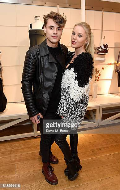 Casey Johnson and Betsy Blue attend the High Everyday Couture Collection Presentation by Claire Campbell hosted by Jasmine Guinness and Jade Parfitt...