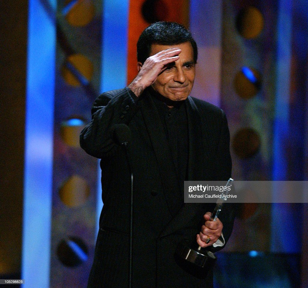 <a gi-track='captionPersonalityLinkClicked' href=/galleries/search?phrase=Casey+Kasem&family=editorial&specificpeople=1545344 ng-click='$event.stopPropagation()'>Casey Kasem</a> accepts the Radio Icon Award at the 2003 Radio Music Awards