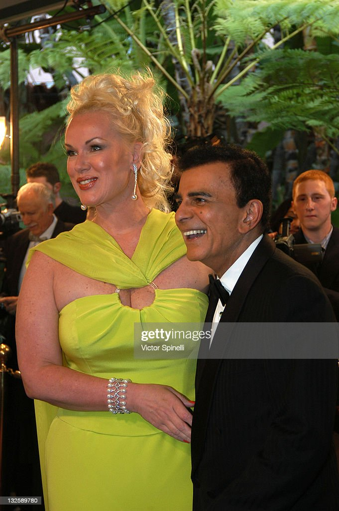 Casey Kasem and guest during 14th Annual Night of 100 Stars Oscar Gala at Beverly Hills Hotel in Beverly Hills, California, United States.