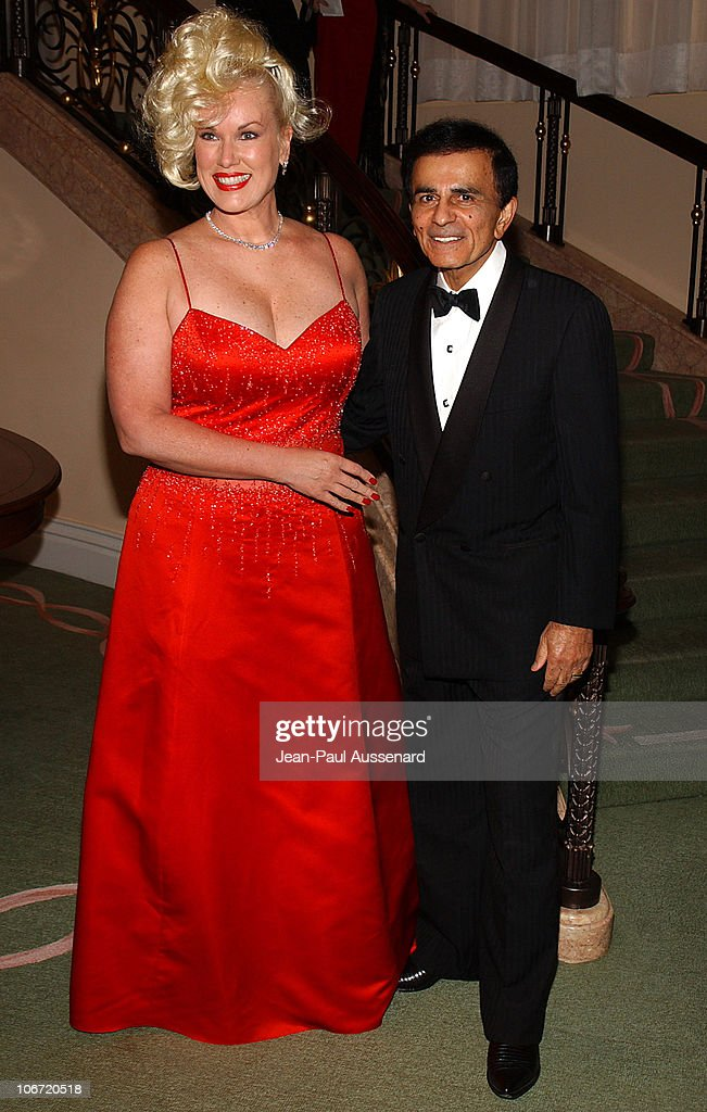 <a gi-track='captionPersonalityLinkClicked' href=/galleries/search?phrase=Casey+Kasem&family=editorial&specificpeople=1545344 ng-click='$event.stopPropagation()'>Casey Kasem</a> and wife Jean during The Museum of Television and Radio Honors CBS News's Dan Rather and 'Friends' Producing Team - Inside at Beverly Hills Hotel in Beverly Hills, California, United States.