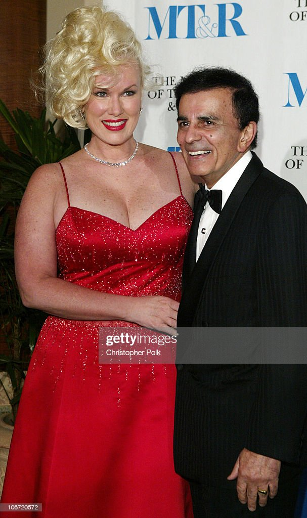 <a gi-track='captionPersonalityLinkClicked' href=/galleries/search?phrase=Casey+Kasem&family=editorial&specificpeople=1545344 ng-click='$event.stopPropagation()'>Casey Kasem</a> and wife Jean during The Museum Of Television & Radio To Honor CBS News's Dan Rather And Friends Producing Team at The Beverly Hills Hotel in Beverly Hills, CA, United States.
