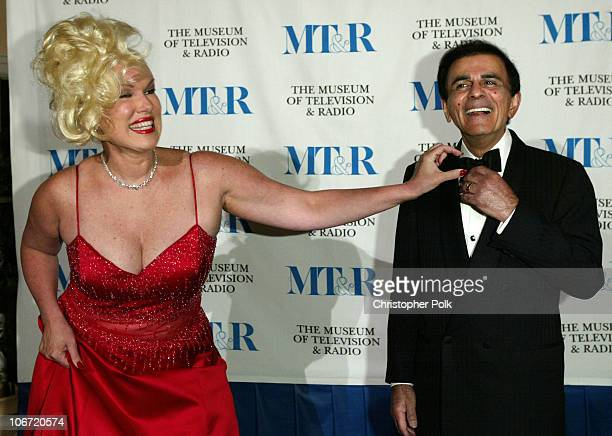 Casey Kasem and wife Jean during The Museum Of Television Radio To Honor CBS News's Dan Rather And Friends Producing Team at The Beverly Hills Hotel...