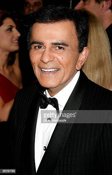 Casey Kasem arrives at the 13th Annual Night of 100 Stars Oscar Viewing Black Tie Gala February 29 2004 at the Beverly Hills Hotel in Beverly Hills...