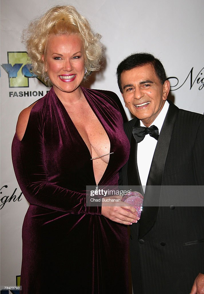 Casey Kasem (R) attends the 17th Annual Night Of 100 Stars Oscar Gala held at the Beverly Hills Hotel on February 25, 2007 in Beverly Hills, California.