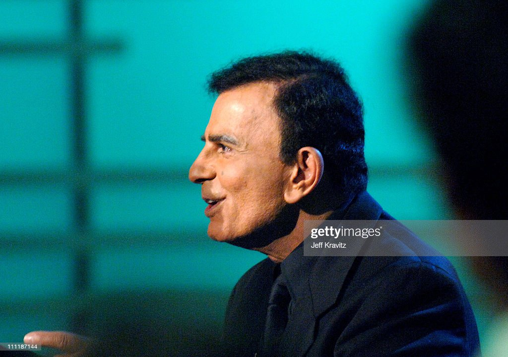<a gi-track='captionPersonalityLinkClicked' href=/galleries/search?phrase=Casey+Kasem&family=editorial&specificpeople=1545344 ng-click='$event.stopPropagation()'>Casey Kasem</a> during 'America's Top 40 Live' with Ryan Seacrest at CBS Studios Stage 46 in Los Angeles, California, United States.