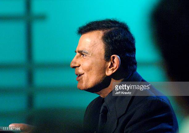 Casey Kasem during 'America's Top 40 Live' with Ryan Seacrest at CBS Studios Stage 46 in Los Angeles California United States