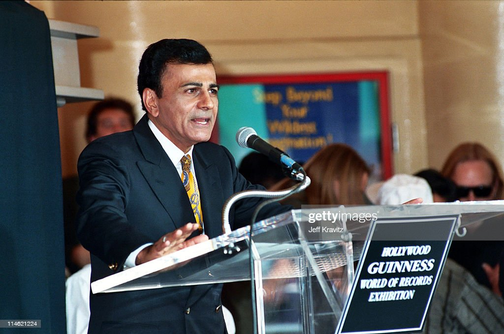 Casey Kasem during Michael Jackson is Honored With Hollywood Walk of Fame in Hollywood, CA, United States.