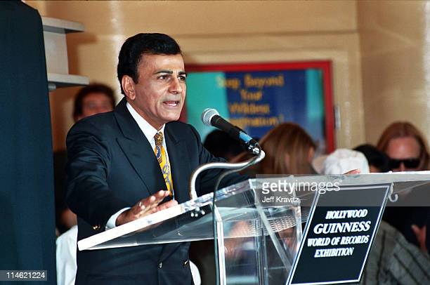 Casey Kasem during Michael Jackson is Honored With Hollywood Walk of Fame in Hollywood CA United States