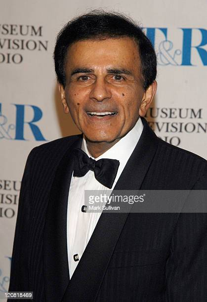 Casey Kasem during The Museum of Television and Radio Annual Los Angeles Gala Arrivals at The Beverly Hills Hotel in Beverly Hills California United...
