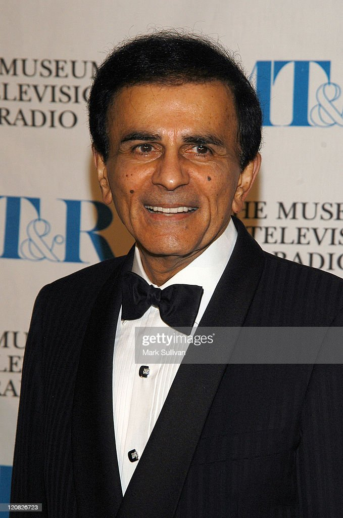 Casey Kasem during The Museum of Television and Radio Annual Los Angeles Gala - Arrivals at The Beverly Hills Hotel in Beverly Hills, California, United States.