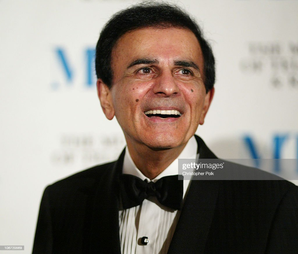 Casey Kasem during The Museum Of Television & Radio To Honor CBS News's Dan Rather And Friends Producing Team at The Beverly Hills Hotel in Beverly Hills, CA, United States.