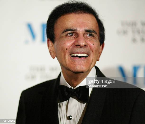 Casey Kasem during The Museum Of Television Radio To Honor CBS News's Dan Rather And Friends Producing Team at The Beverly Hills Hotel in Beverly...