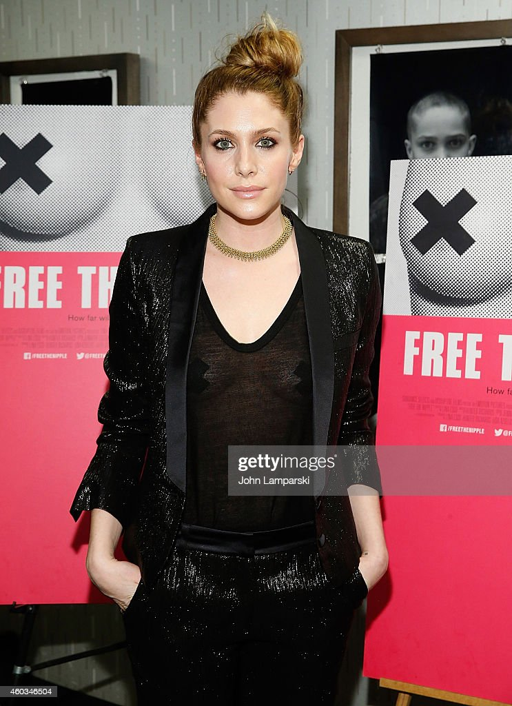 Casey LaBow attends 'Free The Nipple' New York Premiere at IFC Center on December 11, 2014 in New York City.