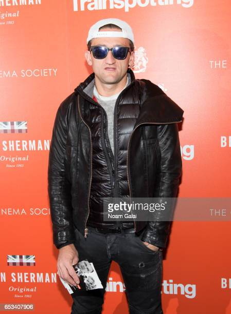 Casey Neistat attends a screening of 'T2 Trainspotting' hosted by TriStar Pictures and The Cinema Society at Landmark Sunshine Cinema on March 14...