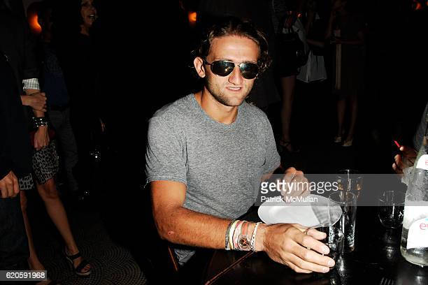 Casey Neistat attends Private Dinner hosted by CARLOS JEREISSATI CEO of IGUATEMI at Pastis on September 6 2008 in New York City