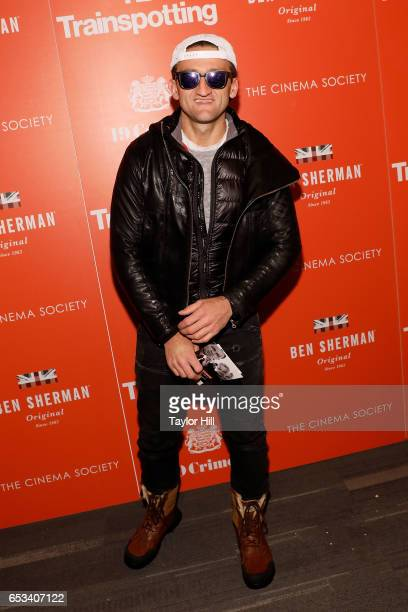 Casey Neistat attends the New York premiere of 'T2 Trainspotting' at Landmark Sunshine Cinema on March 14 2017 in New York City