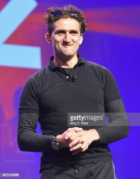 Casey Neistat speaks onstage at 'From YouTube Star to Media Company Cofounder' at Austin Convention Center on March 11 2017 in Austin Texas